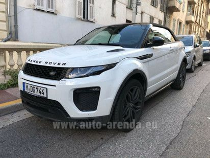 Buy Land Rover Range Rover Evoque Convertible 2017 in Switzerland, picture 1