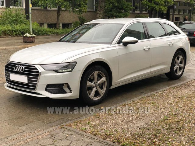 Rental Audi A6 40 TDI Quattro Estate in Biel