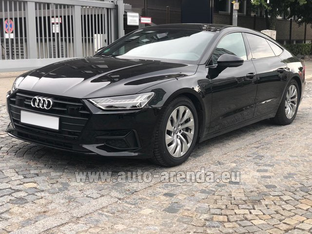 Rental Audi A7 50 TDI Quattro Equipment S-Line in Biel