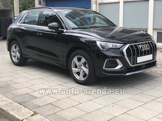 Rental Audi Q3 35 TFSI Quattro in Winterthur