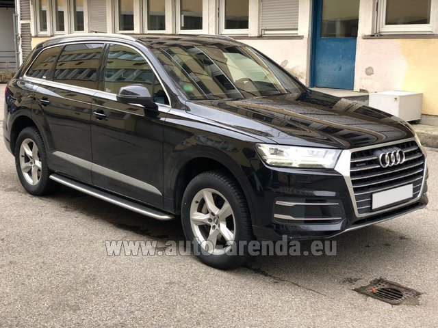 Rental Audi Q7 50 TDI Quattro 5-7 seats in Winterthur