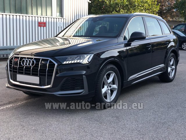 Rental Audi Q7 50 TDI Quattro Equipment S-Line (5 seats) in Zurich