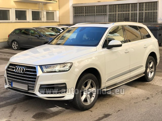 Rental Audi Q7 50 TDI Quattro White in Winterthur