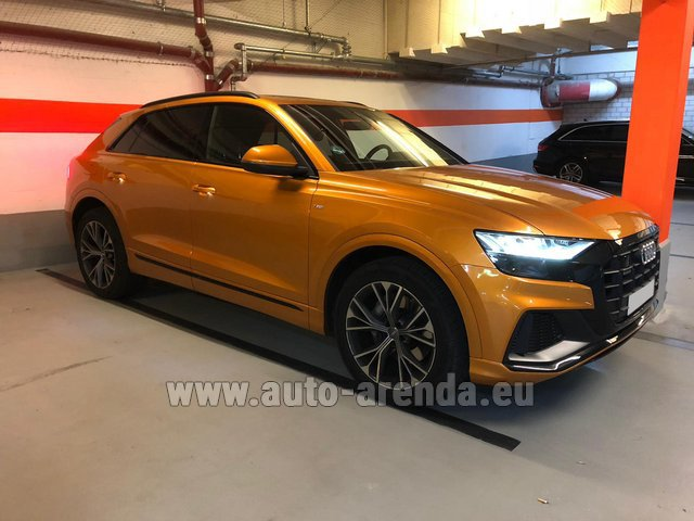 Rental Audi Q8 50 TDI Quattro in Winterthur