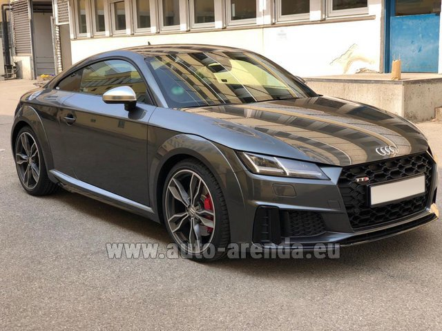 Rental Audi TTS Coupe in St Gallen