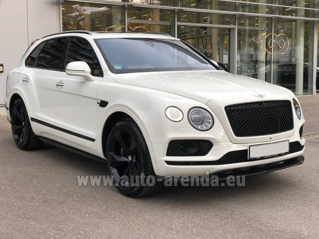 Rental Bentley Bentayga 6.0 litre twin turbo TSI W12 in Biel