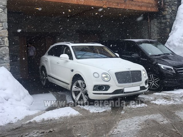 Трансфер из Вербье в Аэропорт Женева на автомобиле Bentley Bentayga 6.0 litre twin turbo TSI W12