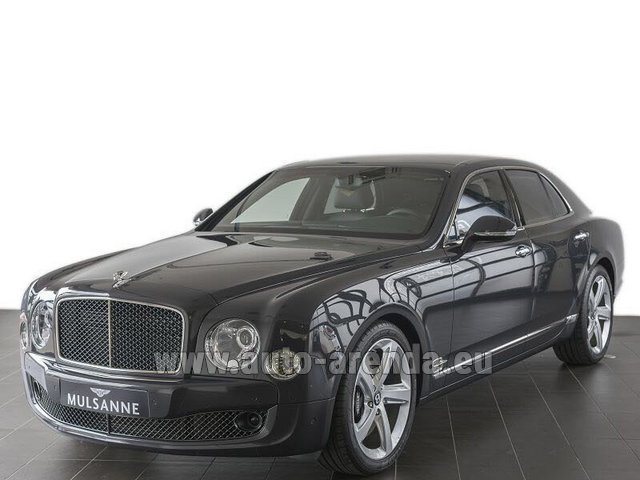Прокат Бентли Mulsanne Speed V12 в Цюрихе