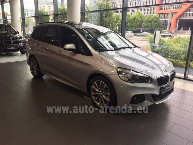 Rental BMW 2 Gran Tourer Equipment M Sport in Luzern