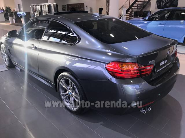Rental BMW 420d xDrive Coupe M Sportpaket in Biel