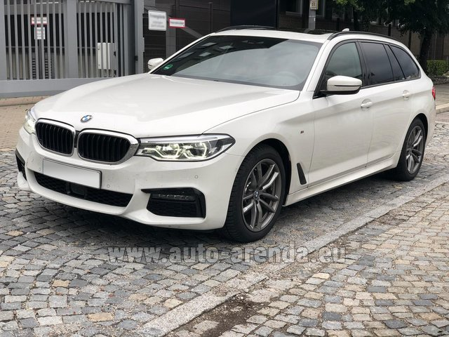 Rental BMW 520d xDrive Touring M equipment in Biel
