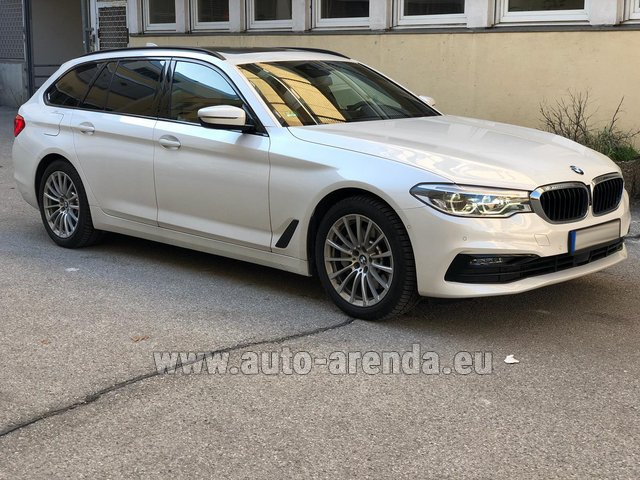 Rental BMW 5 Touring Equipment M Sportpaket in Biel