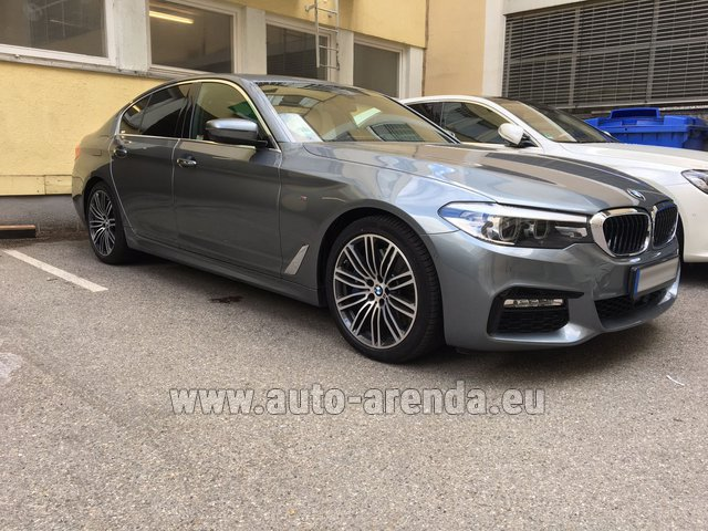 Rental BMW 540i M in Biel