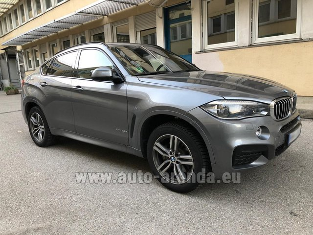 Прокат БМВ X6 4.0d xDrive High Executive M в Цюрихе