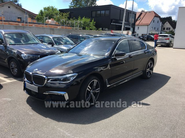 Rental BMW 750i XDrive M equipment in Biel