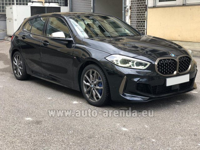Rental BMW M135i XDrive in Switzerland