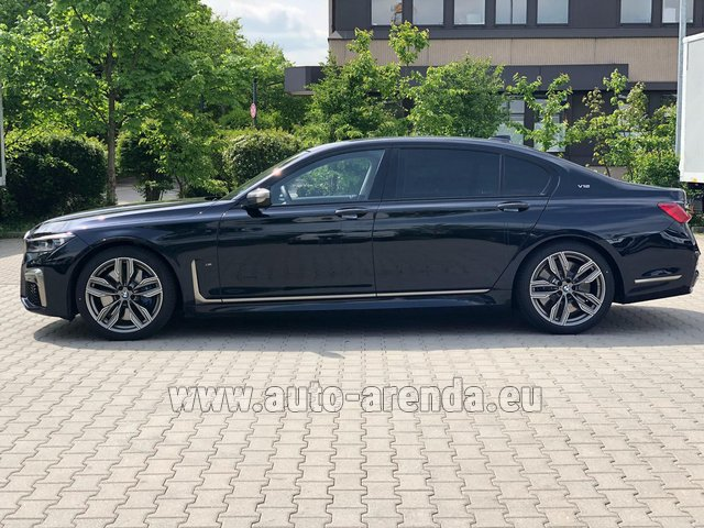 Rental BMW M760Li xDrive V12 in Biel