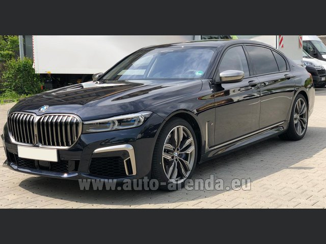 Transfer from Davos to Zurich Airport by BMW M760Li xDrive V12 car
