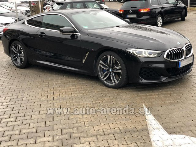 Rental BMW M850i xDrive Coupe in Bienne