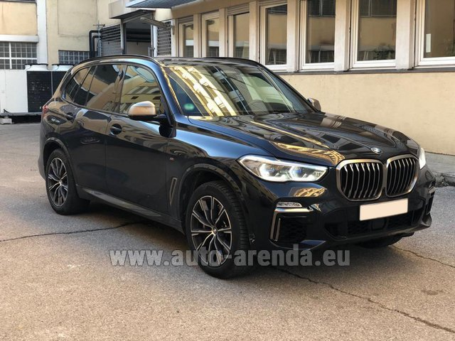 Rental BMW X5 M50d XDRIVE in Zurich