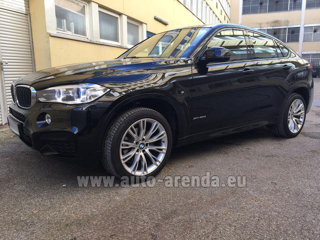 Rental BMW X6 3.0d xDrive High Executive M Sport in Switzerland