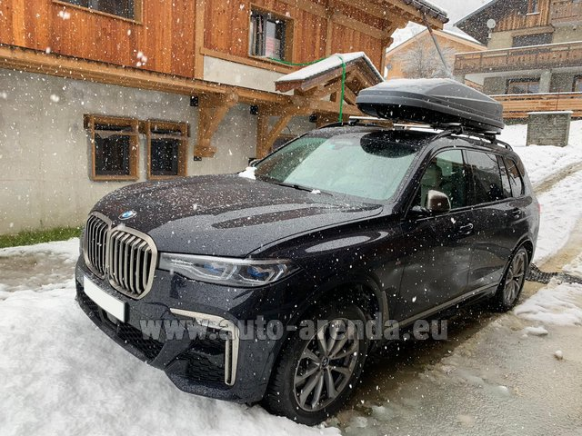 Transfer from Davos to Zurich Airport by BMW X7 M50d (1+6 pax) car