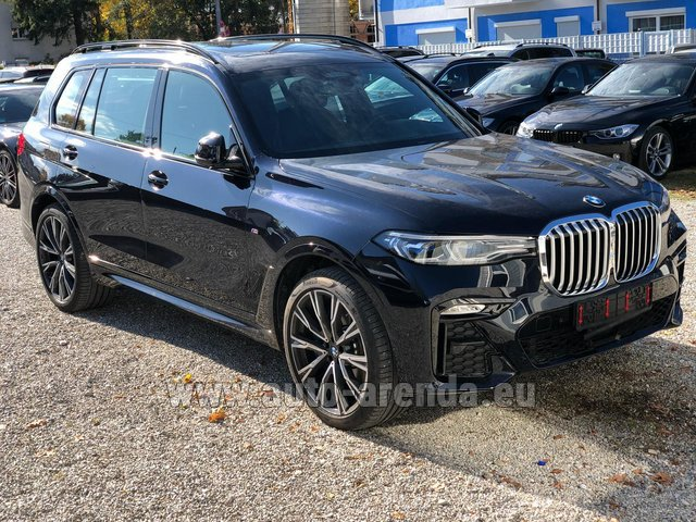 Rental BMW X7 xDrive40i in Zurich