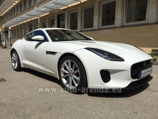 Rental Jaguar F-Type 3.0 Coupe in Zurich