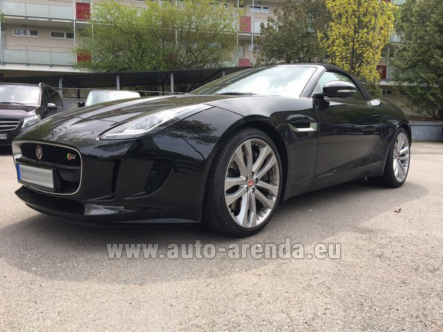 Rental Jaguar F Type 3.0L in Switzerland