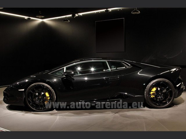 Rental Lamborghini Huracan LP580-2 Lifting System Giano 20 in Bienne