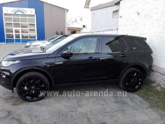 Rental Land Rover Discovery Sport HSE Luxury (5-7 Seats) in Lugano