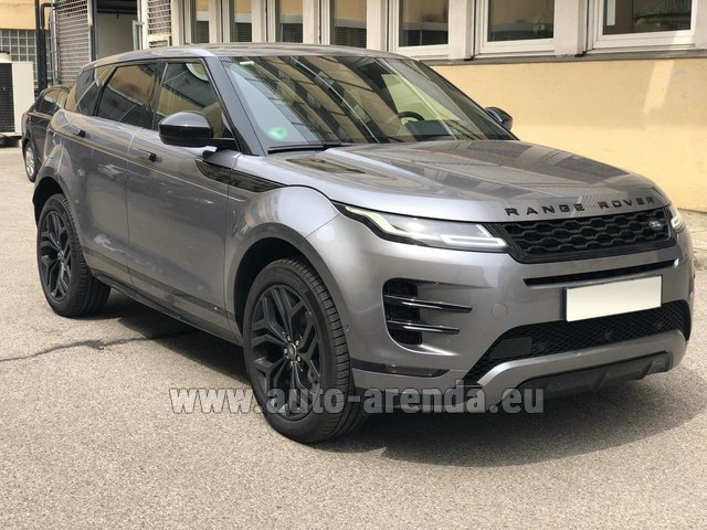Rental Land Rover Range Rover Evoque D180SE in Zurich