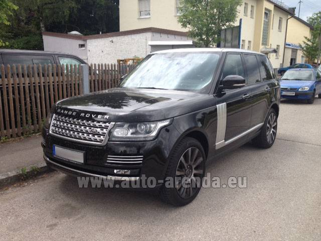 Rental Land Rover Range Rover SDV8 Autobiography in Switzerland