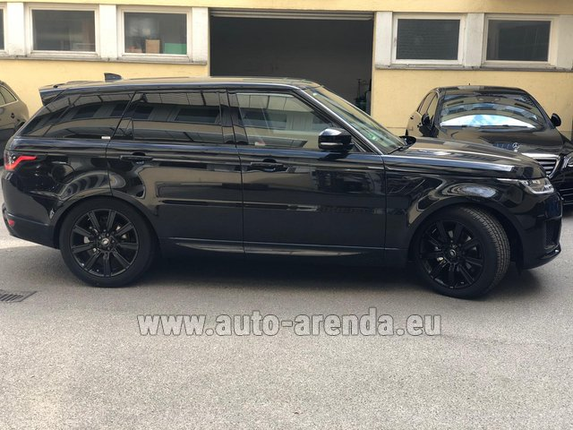 Rental Land Rover Range Rover Sport in Winterthur