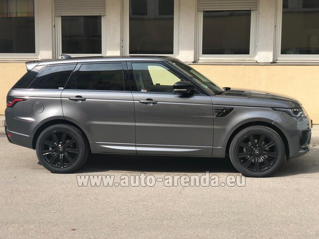 Rental Land Rover Range Rover Sport SDV6 Panorama 22 in Winterthur