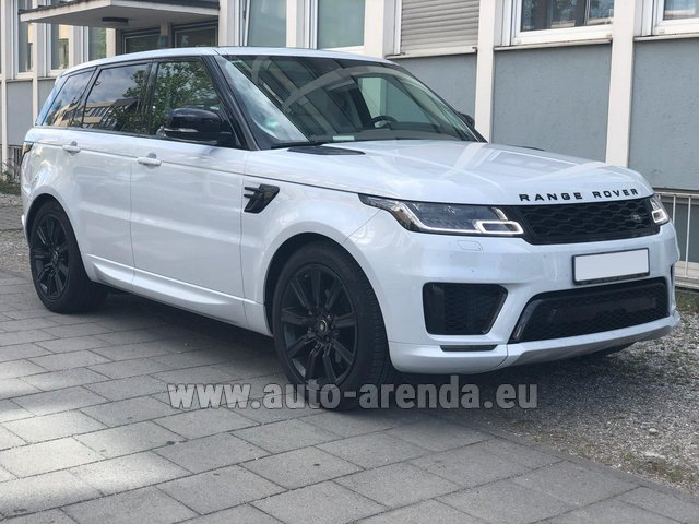 Rental Land Rover Range Rover Sport White in Bienne