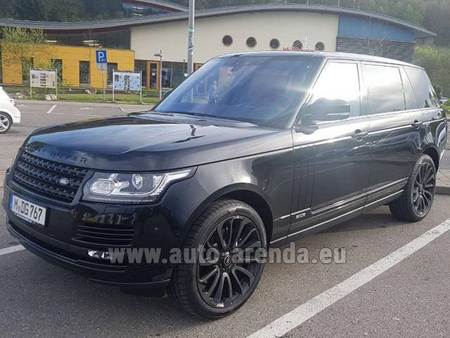 Rental Land Rover Range Super Charge 5.0L Long in Switzerland