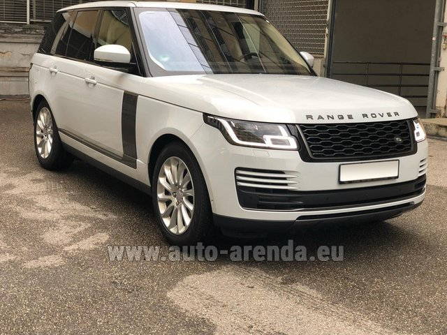 Rental Land Rover Range Rover Vogue P525 in Zurich