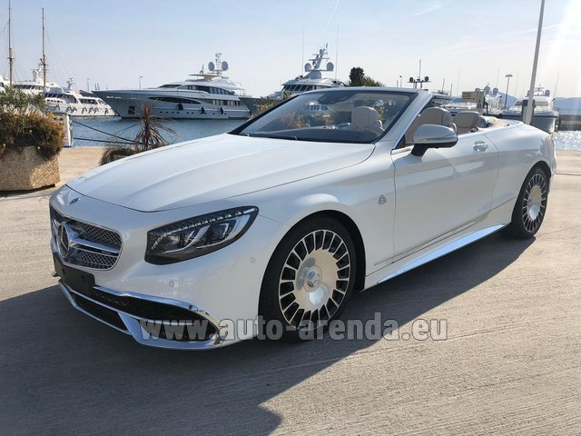 Rental Maybach S 650 Cabriolet, 1 of 300 Limited Edition in Lausanne