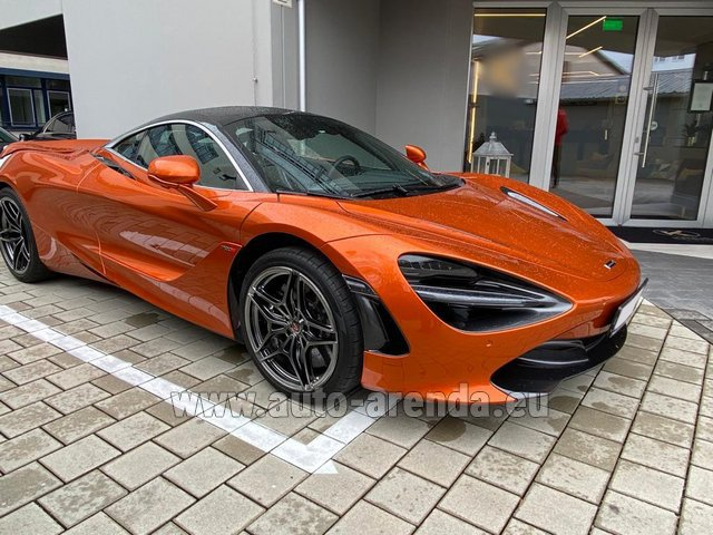 Rental McLaren 720S in Lugano