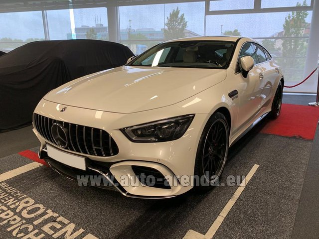 Rental Mercedes-Benz AMG GT 63 S 4-Door Coupe 4Matic+ in Lugano
