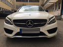Rent-a-car Mercedes-Benz C-Class C43 AMG Biturbo 4MATIC White in Bern, photo 2