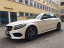 Rent-a-car Mercedes-Benz C-Class C43 AMG Biturbo 4MATIC White in Bern, photo 1
