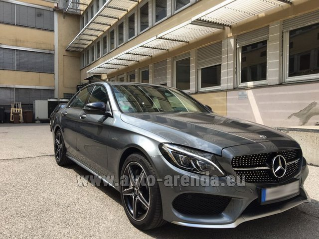 Rental Mercedes-Benz C-Class C43 AMG BITURBO 4Matic in Biel