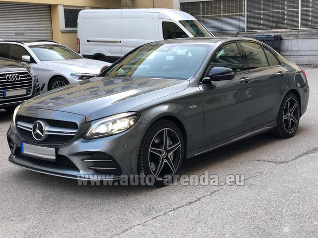 Rental Mercedes-Benz C-Class C43 BITURBO 4Matic AMG in Lugano