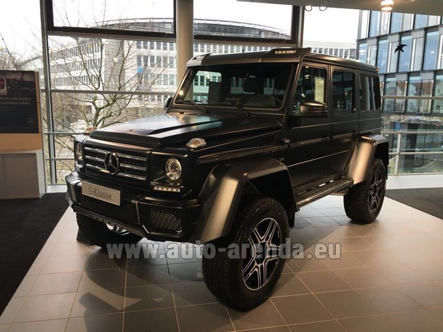 Rental Mercedes-Benz G-Class G 500 4x4² V8 in Bienne