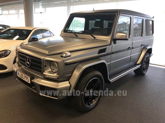 Rental Mercedes-Benz G-Class G 500 Limited Edition in Lugano