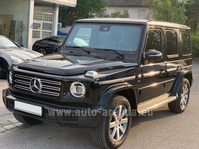 Rental Mercedes-Benz G-Class G500 Exclusive Edition in Lugano