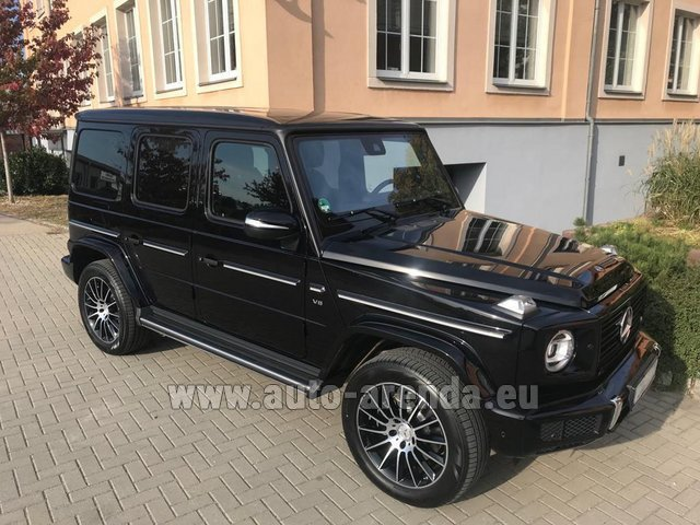 Rental Mercedes-Benz G-Class G500 2018 Exclusive Edition in Bienne