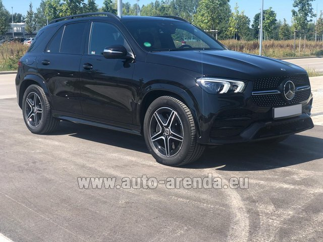 Прокат Мерседес-Бенц GLE 450 4MATIC AMG комплектация в Билье